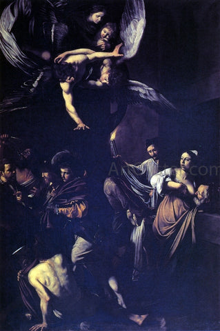 Caravaggio Seven Works of Mercy - Hand Painted Oil Painting