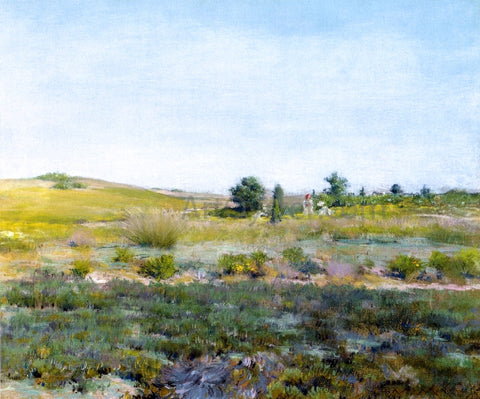 William Merritt Chase Shinnecock Hills / Summer - Hand Painted Oil Painting