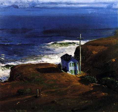 George Wesley Bellows Shore House - Hand Painted Oil Painting