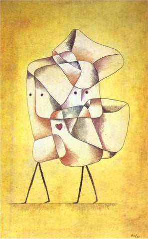 Paul Klee Siblings - Hand Painted Oil Painting