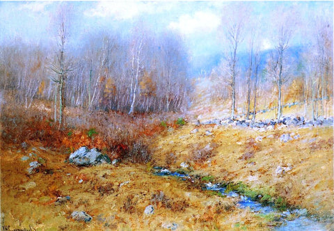 Joseph H Greenwood Signs of Spring - Hand Painted Oil Painting