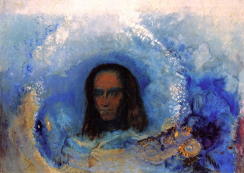 Odilon Redon Silence - Hand Painted Oil Painting