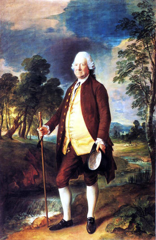 Thomas Gainsborough Sir Benjamin Truman - Hand Painted Oil Painting