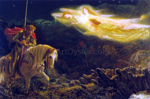 Arthur Hughes Sir Galahad - Hand Painted Oil Painting