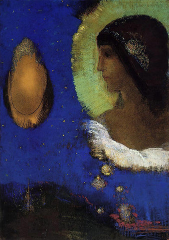 Odilon Redon Sita - Hand Painted Oil Painting