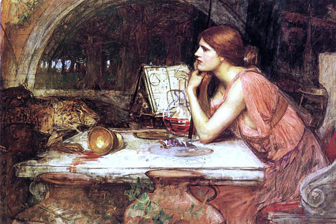 John William Waterhouse Sketch of Circe - Hand Painted Oil Painting
