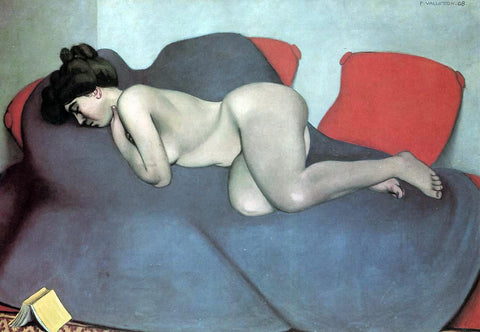 Felix Vallotton Sleep - Hand Painted Oil Painting