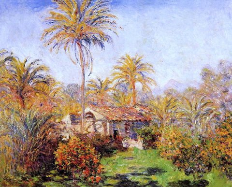 Claude Oscar Monet Small Country Farm in Bordighera - Hand Painted Oil Painting