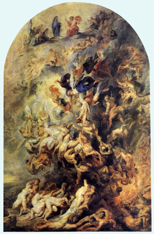 Peter Paul Rubens Small Last Judgement - Hand Painted Oil Painting