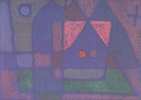 Paul Klee Small Room in Venice - Hand Painted Oil Painting