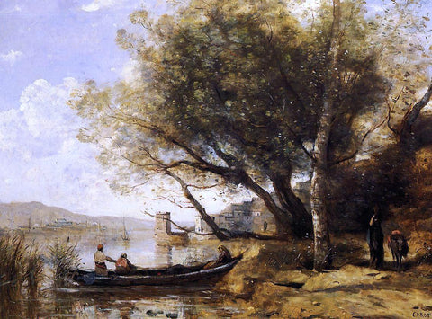 Jean-Baptiste-Camille Corot Smyrne-Bornabat - Hand Painted Oil Painting