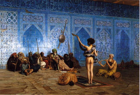 Jean-Leon Gerome Snake Charmer - Hand Painted Oil Painting