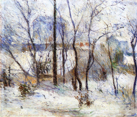 Paul Gauguin Snow at Vaugirard - Hand Painted Oil Painting