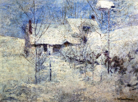 John Twachtman Snowbound - Hand Painted Oil Painting