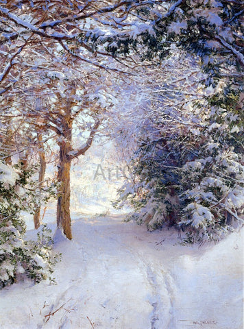 Walter Launt Palmer Snowy Landscape - Hand Painted Oil Painting