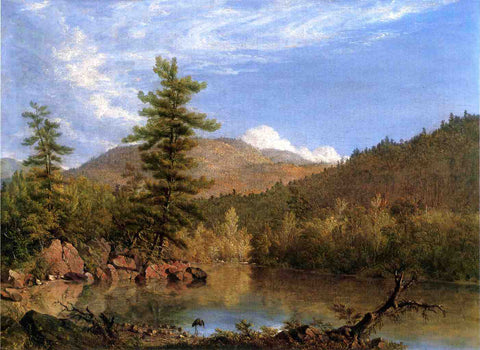 Sanford Robinson Gifford Solitude - Hand Painted Oil Painting