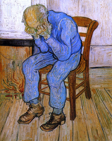 Vincent Van Gogh Sorrowful Old Man - Hand Painted Oil Painting