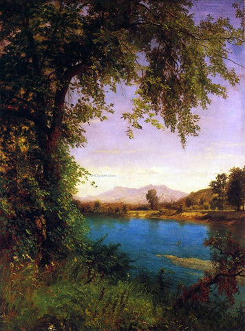 Albert Bierstadt South and North Moat Mountains - Hand Painted Oil Painting