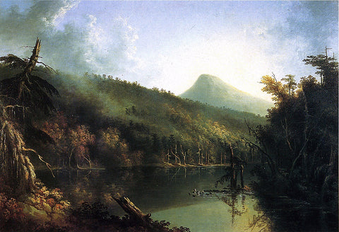 Jacob Caleb Ward South Lake - Hand Painted Oil Painting