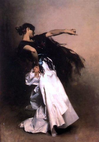 John Singer Sargent Spanish Dancer - Hand Painted Oil Painting