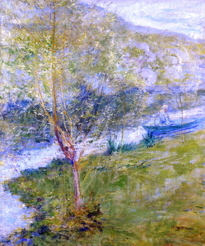 John Twachtman Spring - Hand Painted Oil Painting