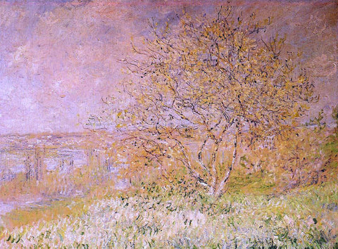 Claude Oscar Monet Spring - Hand Painted Oil Painting