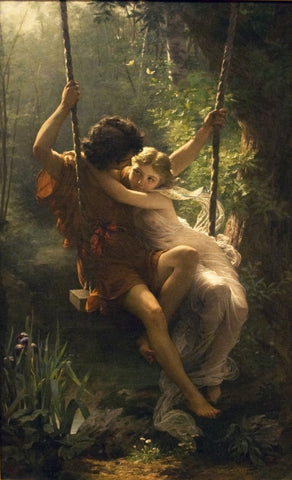 Pierre Auguste Cot Spring - Hand Painted Oil Painting