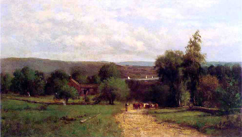 George Inness Spring - Hand Painted Oil Painting