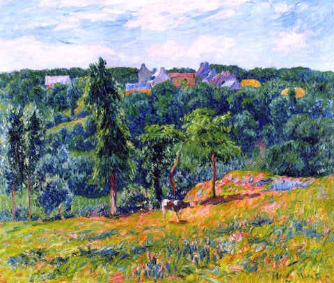 Henri Moret Spring at Clohars - Hand Painted Oil Painting