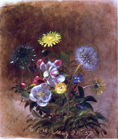 William Sidney Mount Spring Bouquet - Hand Painted Oil Painting