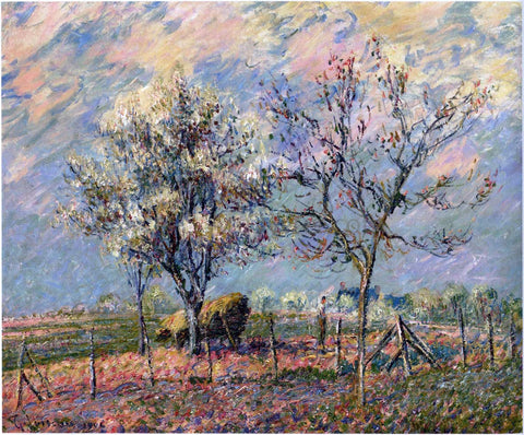 Gustave Loiseau Spring - Hand Painted Oil Painting