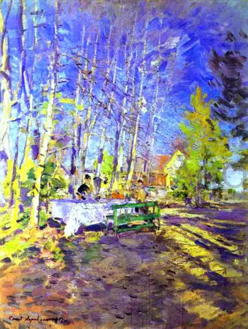 Constantin Alexeevich Korovin Spring - Hand Painted Oil Painting