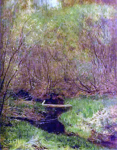 Isaac Ilich Levitan Spring in the Forest - Hand Painted Oil Painting