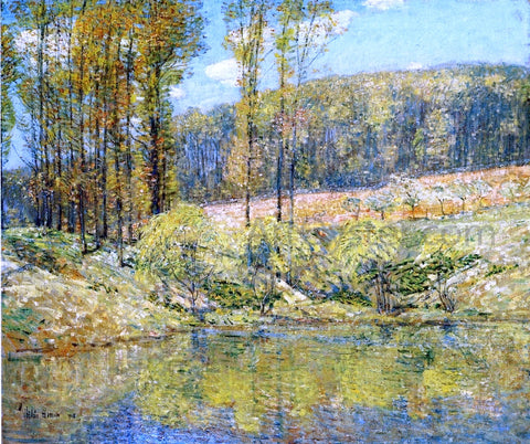 Frederick Childe Hassam Spring, Navesink Highlands - Hand Painted Oil Painting