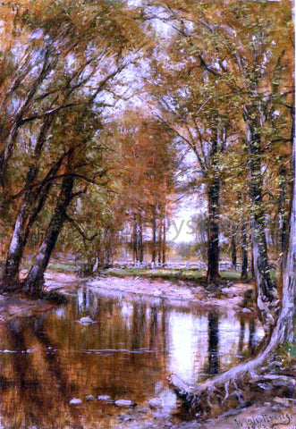 Thomas Worthington Whittredge Spring on the River - Hand Painted Oil Painting