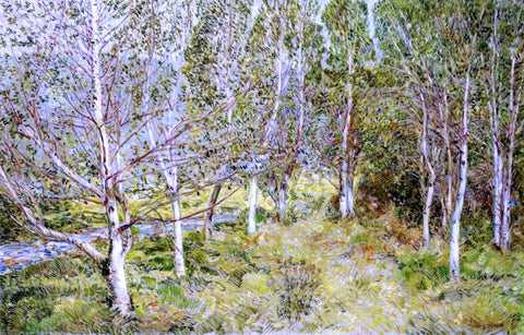Frederick Childe Hassam Spring Woods - Hand Painted Oil Painting