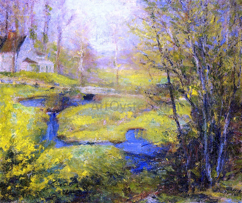 Robert Vonnoh Springtime - Hand Painted Oil Painting