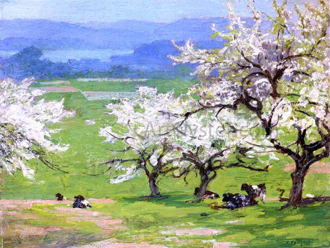 Edward Potthast Springtime - Hand Painted Oil Painting