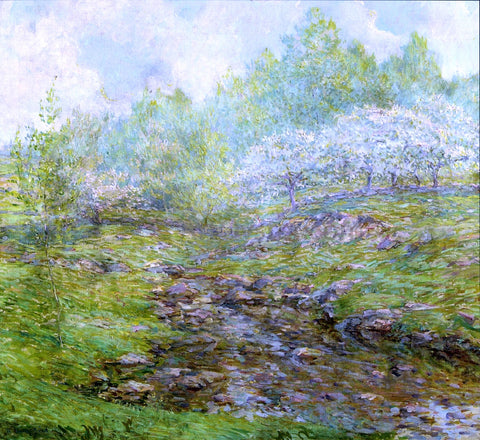 Robert Lewis Reid Springtime - Hand Painted Oil Painting