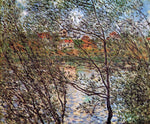 Claude Oscar Monet Springtime through the Branches - Hand Painted Oil Painting