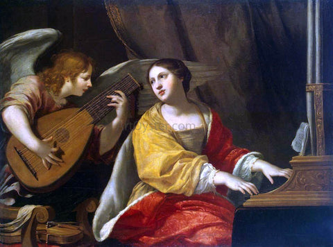 Jacques Blanchard St Cecilia - Hand Painted Oil Painting