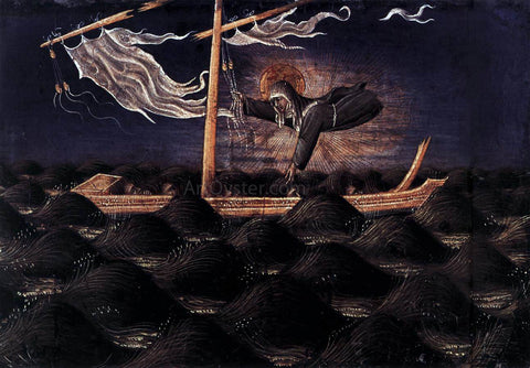 Giovanni Di Paolo St Clare Rescuing the Shipwrecked - Hand Painted Oil Painting
