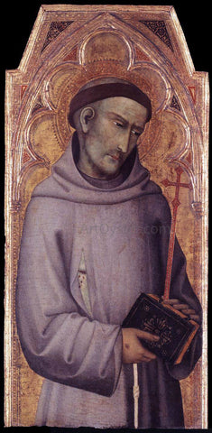 Andrea di Vanni D'Andrea St Francis of Assisi - Hand Painted Oil Painting