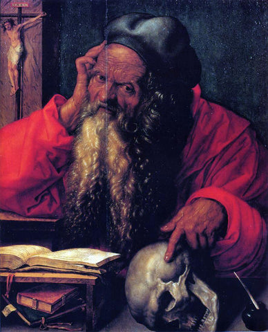Albrecht Durer St. Jerome - Hand Painted Oil Painting