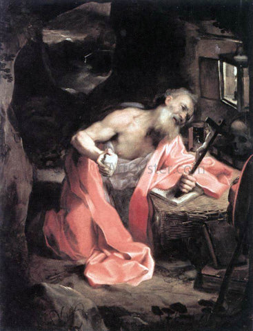 Federico Fiori Barocci St Jerome - Hand Painted Oil Painting