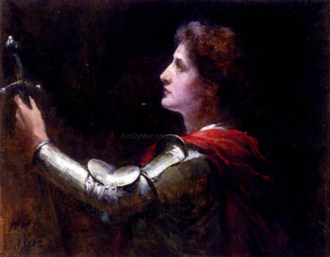 Walter William Ouless St. Joan of Arc - Hand Painted Oil Painting