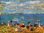 Maurice Prendergast St. Malo (also known as Sketch, St. Malo) - Hand Painted Oil Painting