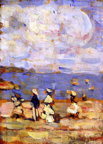 Maurice Prendergast St. Malo - Hand Painted Oil Painting