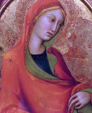 Lippo Memmi St Mary Magdalen (detail) - Hand Painted Oil Painting