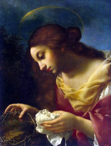 Carlo Dolci St Mary Magdalene - Hand Painted Oil Painting
